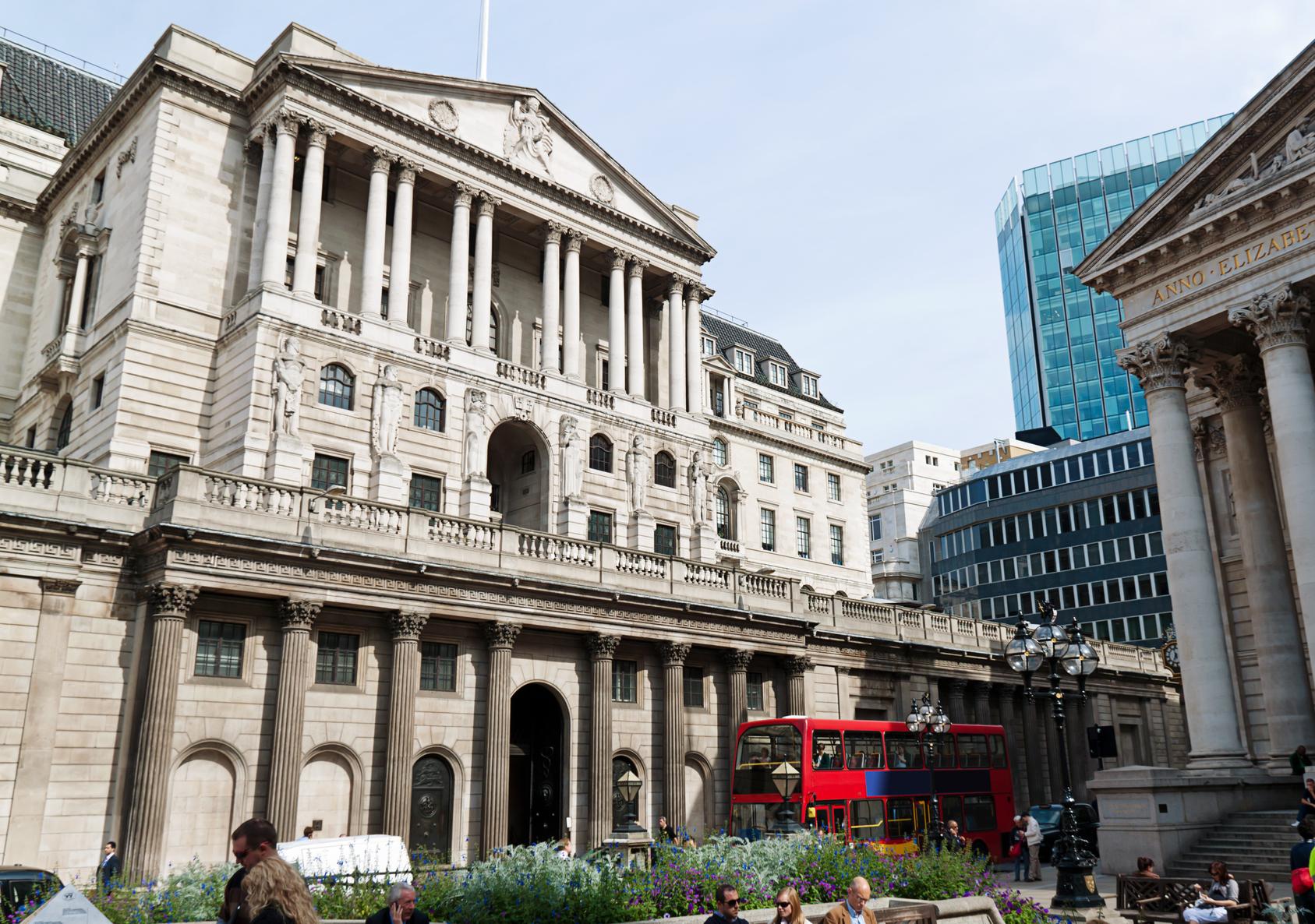 London, bank of england