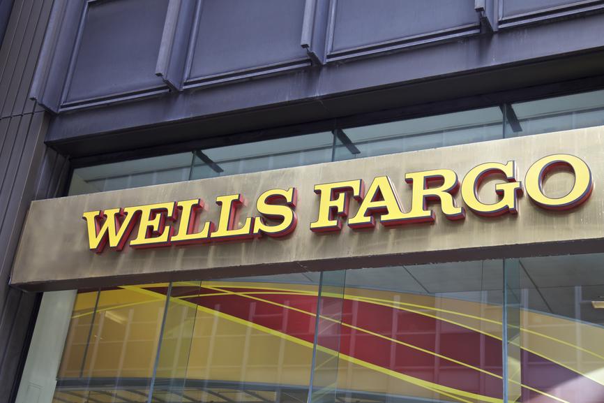 Wells Fargo Bank in Manhattan, New York, United States of America  NEW YORK - JUNE 06: Wells Fargo branch in New York, United States America. Photo taken on: October 10th, 2014.