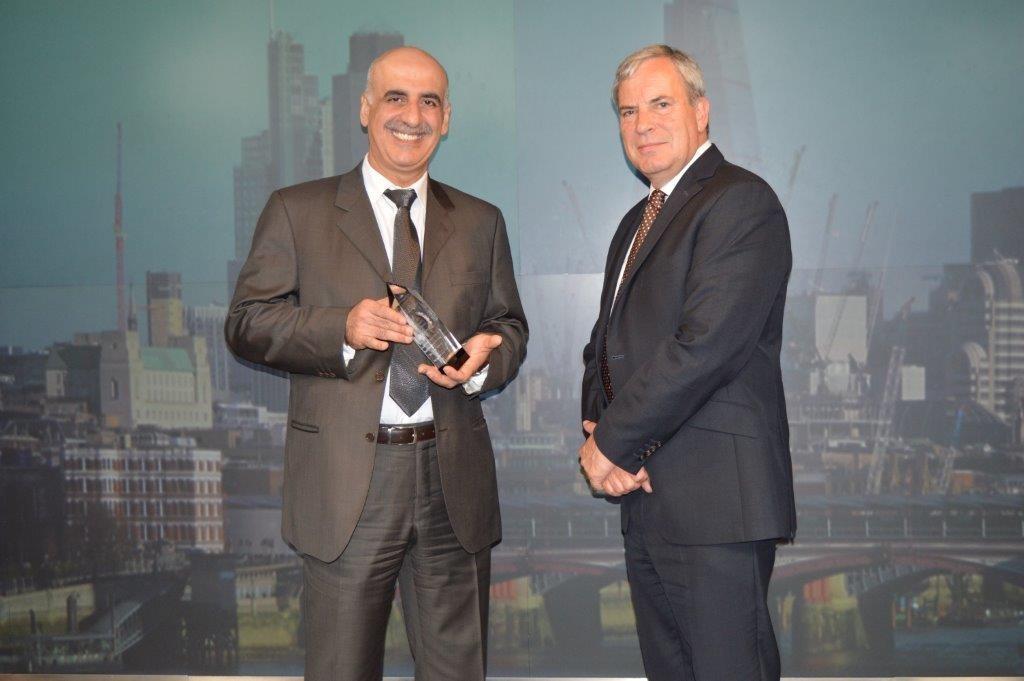 Dr. Khalid Abdulla, General Manager at Eskan Bank and Simon Hughes, International Banker