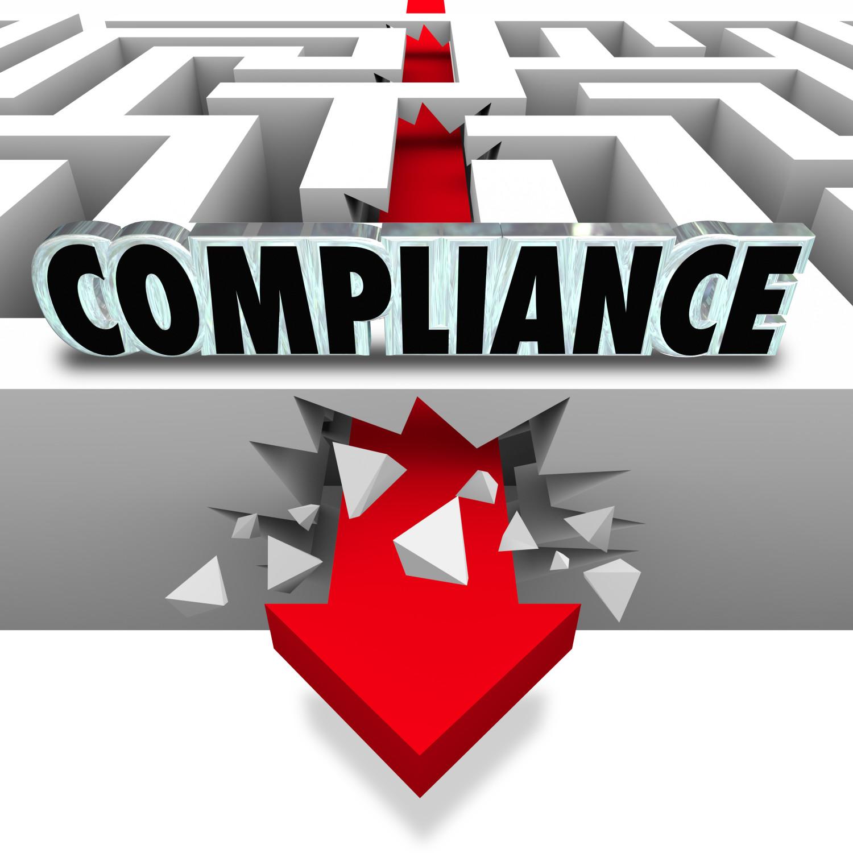 Compliance Arrow Breaks Through Maze Breaking Rules