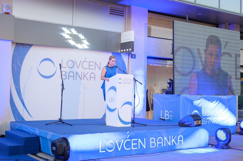The Opening of Lovćen Banka