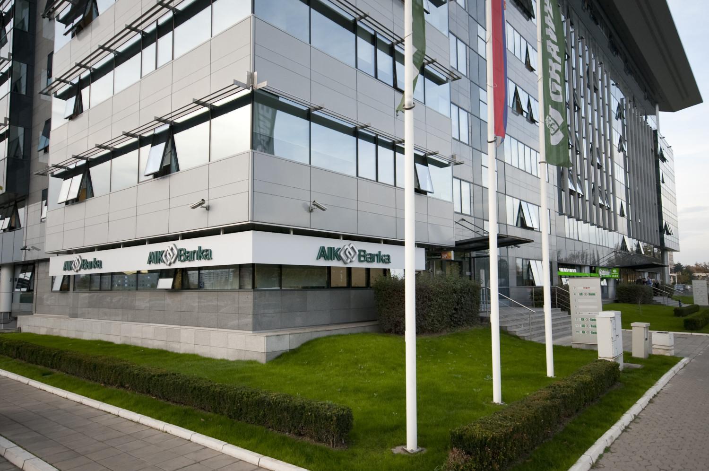 AIK Banka zgrada Grawe Novi Beograd