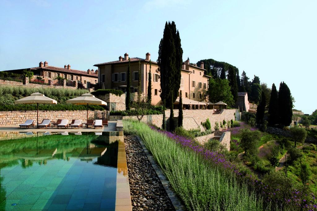 Rosewood Castiglion del Bosco - borgo pool