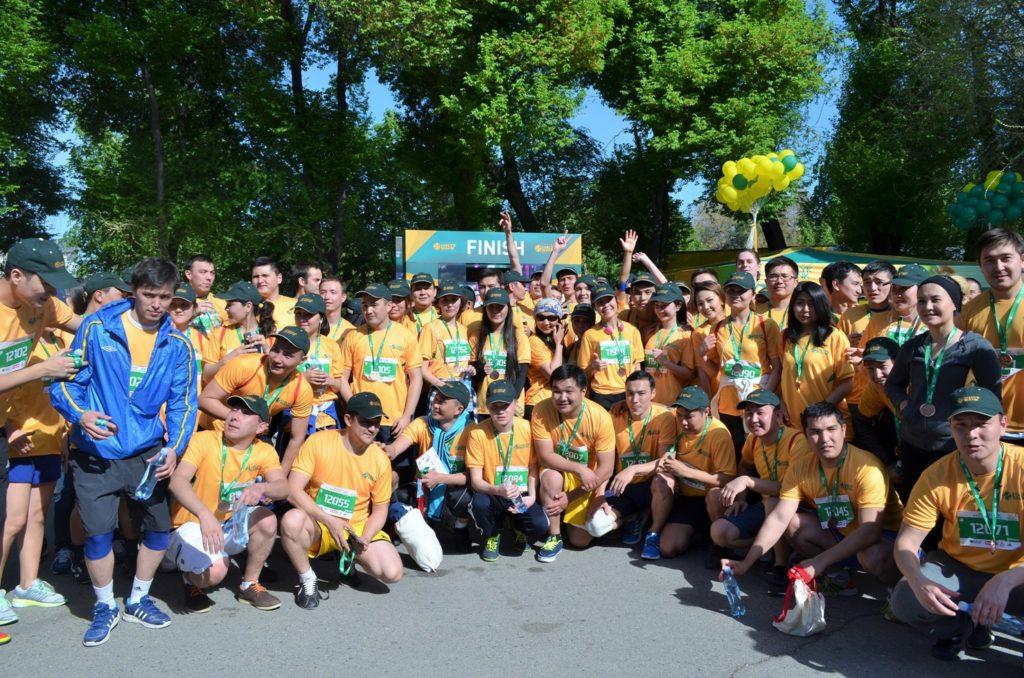 Halyk Bank Sponsorship of Almaty Marathon