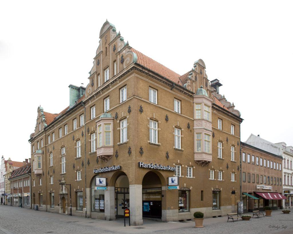Handelsbanken Kvarnholmen in Kalmar Sweden