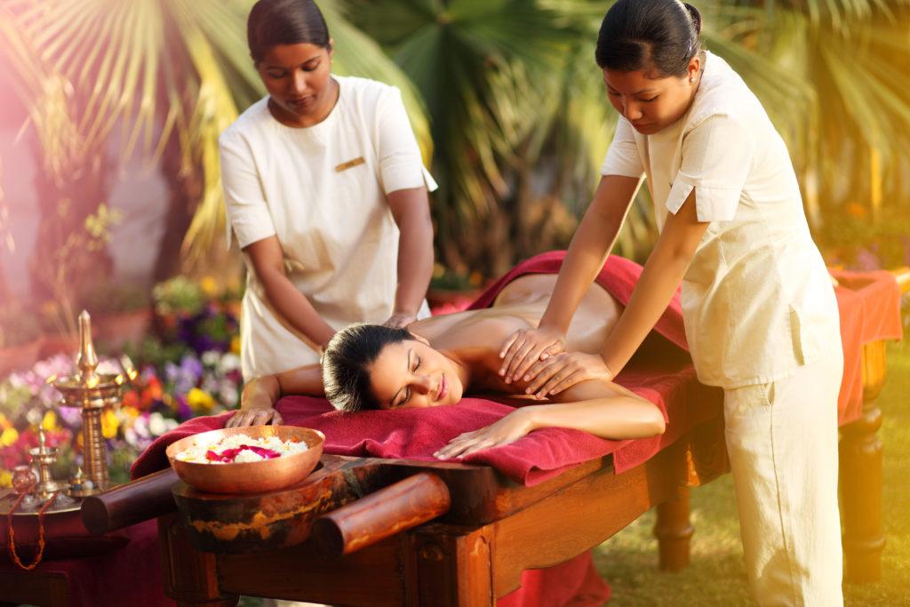 Ananda's Abhyanga Ayurvedic Massage