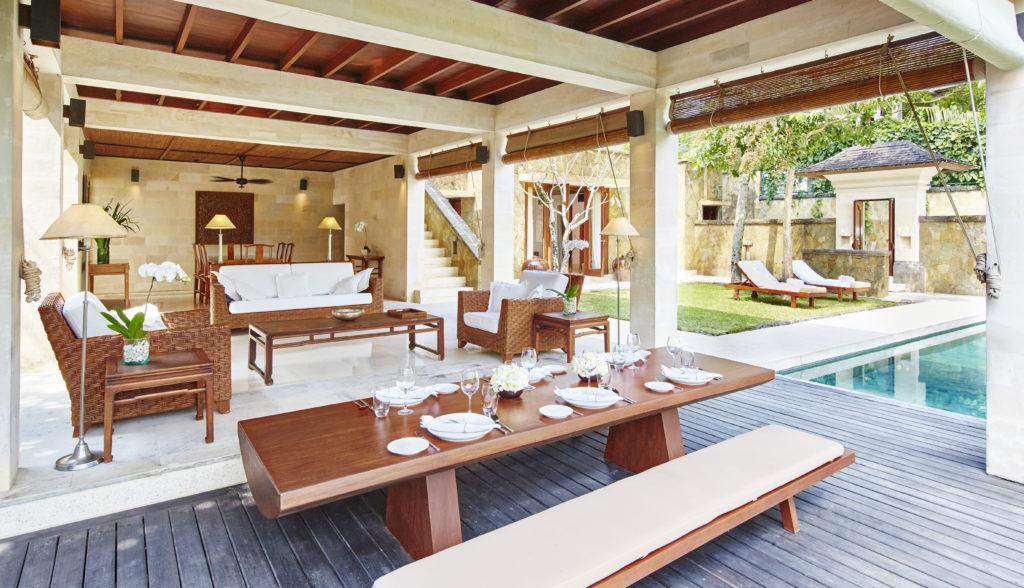 COMO Giri Antara Living Dining Area